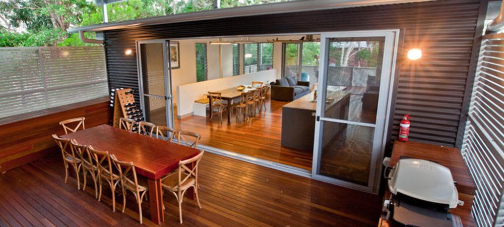 Boreen Point Residence Deck