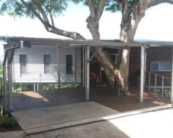 Buderim House Carport Front View