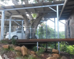 Buderim House Carport Side View 2