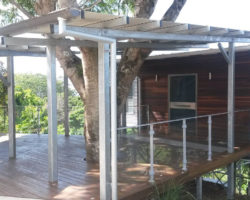 Buderim House Carport Side View