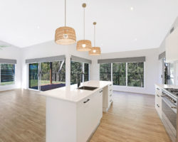 Noosaville Residence Kitchen Living
