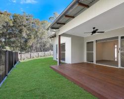 Noosaville Residence Side Deck