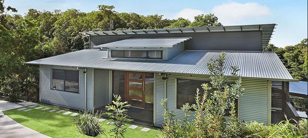 Woombye Residence Front Elevation